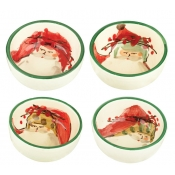 Old St. Nick Assorted Condiment Bowl - Set 4