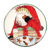 Old St. Nick Cookie Platter