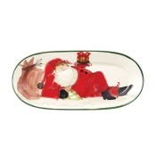 Old Saint Nick Small Oval Platter