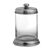 Arte Italica Tavola Medium Glass Canister (New)