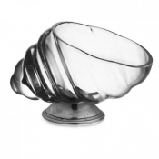 Marina Peltro Shell Footed Compote (New)