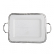 Arte Italica Arte Italica Tuscan Small Rectangular Tray with Handles