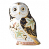 Twilight Owl Paperweight