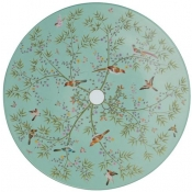 Raynaud Paradis Buffet Plate - Turquoise