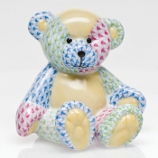 Herend Patchwork Small Teddy Bear