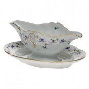 Blue Garland GRAVY BOAT W/FIXED STAND  0.75
