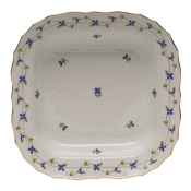"Blue Garland SQUARE FRUIT DISH  11""SQ"