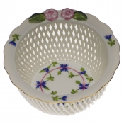 Openwork Basket w/ Flowers - Flower 2