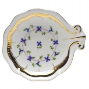 Herend Large Shell Dish - Flower 2