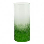Moser Crystal Pebbles Highball - Ocean Green