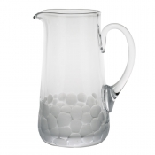 Moser Pebbles Pitcher - Clear