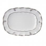Elizabeth Platinum Medium Oval Platter