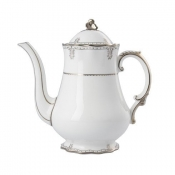 Elizabeth Platinum Coffee Pot
