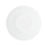 Makassar Gloss White Bread And Butter Plate