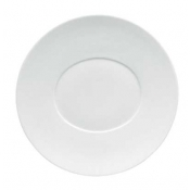 "Hommage by Thomas Keller Round Flat Platter 12.5"" Oval Well"
