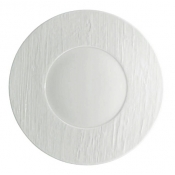 Makassar Gloss Buffet Plate White