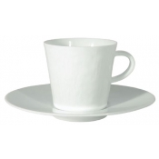 Makassar Gloss White Coffee Cup Extra