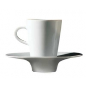 Hommage by Thomas Keller  White Expresso Saucer