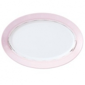 Margot Pink  Oval Platter