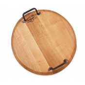 Provence Platters Round Platter w/ Handles - 21""