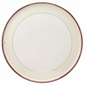 Scala Red Gold Filet  Round Cake Platter