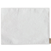 Vietri Italian Paper Placemats White Placemats - Set of 4