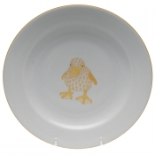 Herend Baby Plate - Duckling