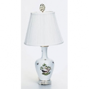 Herend Rothschild Bird Basketweave Lamp - 24""