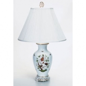 Herend Rothschild Bird Basketweave Lamp - 30""