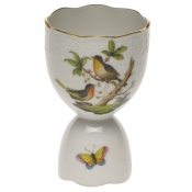 "Rothschild Bird DOUBLE EGG CUP  4""H"