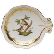 Herend Large Shell Dish - Birds