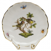 Medium Shell Dish - Birds