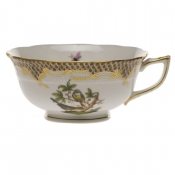 Rothschild Bird Brown Border TEA CUP - MOTIF 02 (8 OZ)