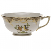 Rothschild Bird Brown Border TEA CUP - MOTIF 07 (8 OZ)