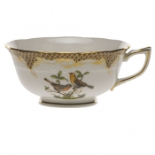 Rothschild Bird Brown Border TEA CUP - MOTIF 09 (8 OZ)
