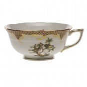 Rothschild Bird Brown Border TEA CUP - MOTIF 11 (8 OZ)