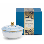 Mottahedeh Cornflower Lace Grand Round Candle Box