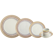 5 Piece Setting w/ Large Dinner Plate