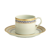 Tea Cup & Saucer  - Can Shape