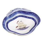 Mottahedeh American Constitution Ship Shell Dish