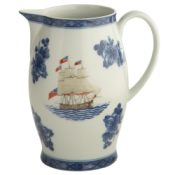 Mottahedeh American Constitution Ship Pitcher
