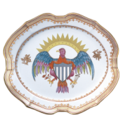 Mottahedeh Small Eagle Platter
