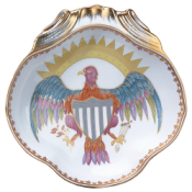 Mottahedeh Eagle Shell Dish