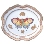 Mottahedeh Small Butterfly Platter