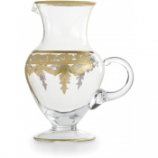 Arte Italica Vetro Gold Pitcher