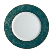 Salamanque Gold Turquoise Salad Plate