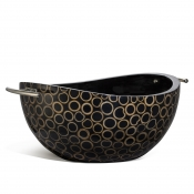 LaDorada Bamboo Ring Serving Bowl