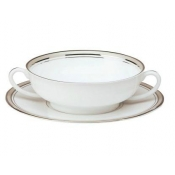 Excellence Grey  Cream Soup Saucer