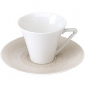 Galileum Sand  Coffee Saucer