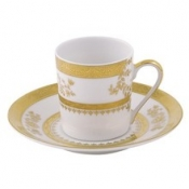 Orsay White  Coffee Saucer